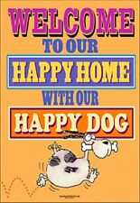 """Happy Home & Happy Dog Garden Flag - 12.5"""" x 18"""" - Double Sided - 56023"""