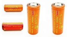 2x Batería PILA RECARGABLE Bateria IMR 26650 3400 mAh Li-ion 3.7V 10C 34A 4143