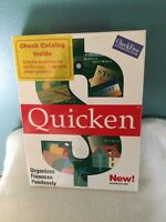 QUICKEN VERSION 6 FOR DOS BY INTUIT - VINTAGE 1992 SOFTWARE