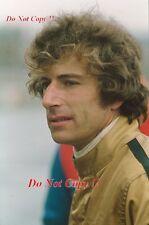 TONY TRIMMER F1 Driver Ritratto Fotografia