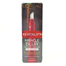 Loreal Revitalift Miracle Blur Instant Eye Smoother Eye Treatment .5oz