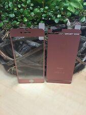Panzerglas front&back Rose MATT iPhone 7 plus Displayschutz Glas Neuheit