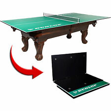 NEW Table Tennis Conversion Top Folding Ping Pong Indoor Portable Game Room Pool