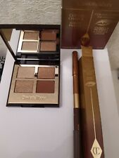 Boxed Charlotte Tilbury Luxury Eyeshadow Palette Copper Charge