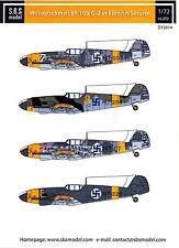 SBS Models Decals 1/72 MESSERSCHMITT Bf-109G-2 FINNISH AIR FORCE