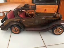 Vintage Wooden Car Ornament