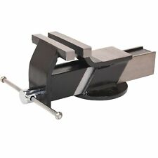 Sealey Steel Fabricated Bench Mounting Garage Work Clamping Vice- 100mm - S01081