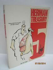 Herman Treasury 5 by Jim Unger