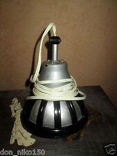 Old vintage Machine Age pendant Lamp Light hanging