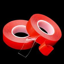 More details for 3m double sided tape roll strong self adhesive clear sticky tape waterproof diy
