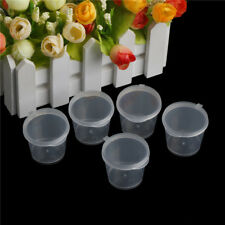 Vaso in plastica trasparente con contenitore per alimenti CRIT
