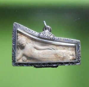 PERFECT! OLD AMULET PHRAPANGSAIYARTE VERY RARE FROM SIAM !!!