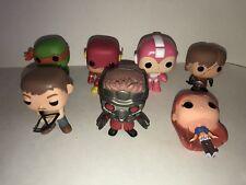 FUNKO POP MIxed Lot of 7 Figures Flash Gordon Walking Dead Guardians Mega Man +