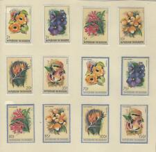 Burundi, Postage Stamp, #633-8, C289-94 Mint Hinged Set, 1986 Flowers (p)