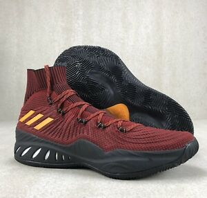 Adidas Justise Winslow Crazy Explosive PE Heat Red AH2369 Basketball Shoes Sz 14