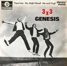 """GENESIS - 3 x 3 EP (7"""") (VG+/VG)"""