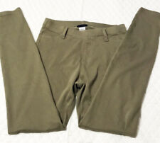 Joe Boxer Women's Leggings Jeggings Size S/C Army Green 2 Pockets