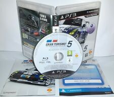 GRAN TURISMO 5 CORSE AUTO - Playstation 3 Ps3 Play Station Bambini Tv Gioco Game
