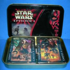 Star Wars Episode 1 Limited Edition Collector Tin & 2 Decks of Playing Cards