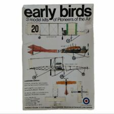 Vintage Enter Early Birds Airplane Model 3 In 1 Kit 8448
