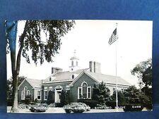 Postcard ME Sanford Louis Goodall Memorial Library RPPC Real Photo