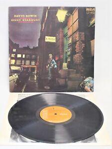 DAVID BOWIE 'Rise & Fall of Ziggy Stardust…' 1972 Vinyl LP on RCA + Inner  - K21