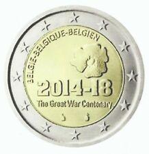 BELGIË 2014 - 2 Euro - 100 Jaar Herdenking WO I -1914-18/Guerre Mondiale - UNC!