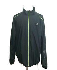 Retail $55    B36 Asics Men/'s 2XLT Athletic Dark Gray Jacket Reflective