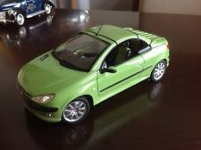 1:18 Diecast Peugeot 206cc With Working Convertible Hard Top V.Rare