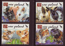 NEW ZEALAND 2008 YEAR OF THE RAT SET OF 4 UNMOUNTED MINT