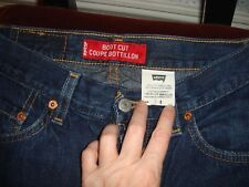 Women's Vintage Levi's Denim Blue Jeans Boot Cut 100% Cotton Made in Canada