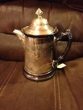 Silver Plated Quadruple Pitcher - New York - Early 1900