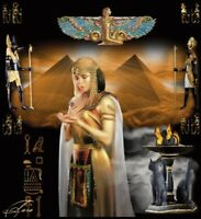 DIY Diamond Painting Egypt Queen Pharaoh Pyramids Embroidery Cross Stitch Mosaic