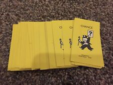 2002 Monopoly Junior  - Toy Story Edition Chance Cards - Complete Set