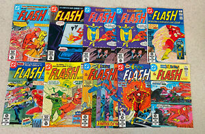 HUGE LOT of 59 FLASH Comic Books -- Bronze to Modern -- All Pictured