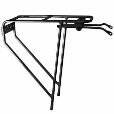 Tortec Tour Ultralite Bike/Cycling/Touring/Audax Rear Pannier Rack - Black