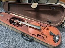 More details for 3/4 violin and case, for repair or parts.
