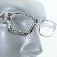 Reading Glasses Sharp Ink Style Tattoo Graffiti Frame +3.50 Clear Black