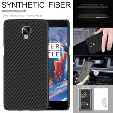 NILLKIN Unique Synthetic Carbon Fiber Case Slim Cover For OnePlus 3 A3000/3T
