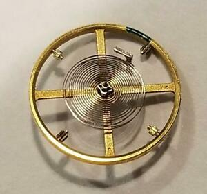 Genuine Rolex 3135 432 Wheel Spring Balance Complete, minor tangle to hairspring