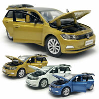 VW All New Polo Plus 2019 1:32 Model Car Diecast Gift Toy Vehicle Kid Collection