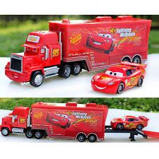 Disney Pixar Cars 1 No.95 Mack Racer's Truck & Lightning McQueen Auto