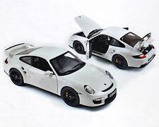 Porsche 911 GT2 - blanc, NOREV 1:18