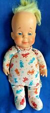 Vintage 1964 Drowsy Baby Doll Mattel Talker Cats & Dogs Pajamas Mute