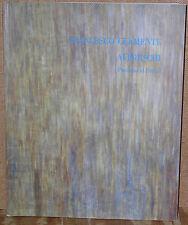 Francesco Clemente: Affreschi-Pinturas al Fresco-Exhibition Catalog-1987