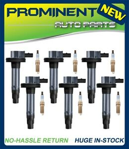 Ignition Coils & Motorcraft Platinum Spark Plugs For Ford Lincoln Mazda SP411