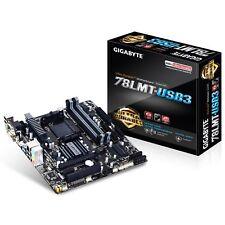Gigabyte GA-78LMT-USB3 AMD Socket AM3+ MicroATX VGA/DVI-D/HDMI USB 3 Motherboard
