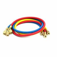 3pcs Refrigeration Charging Hose Charge For R410 Air Condition Refrigerant Test