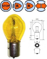 BULB 12V 35W BA20S YELLOW BOSCH CAR OLD SCHOOL VINTAGE REAR FRONT LIGHT LAMP