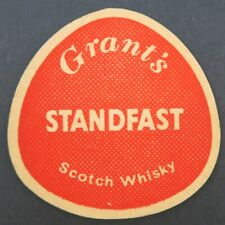 Ancien Sous-bock bière GRANT'S STANDFAST whisky beermat coaster Bierdeckel 13